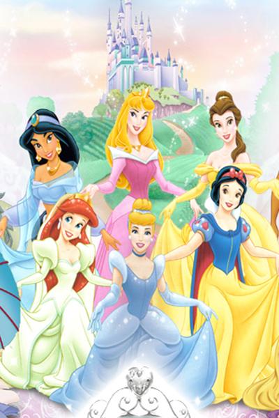کارتون دخترانه پرنسسی